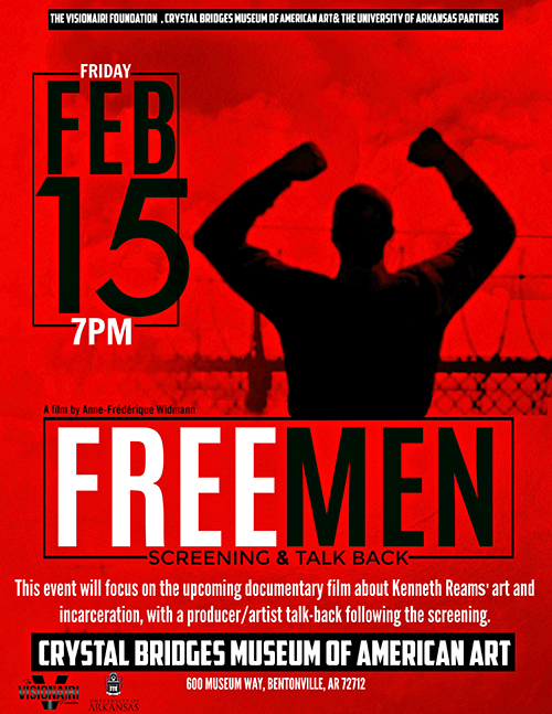 Free Men event flyer